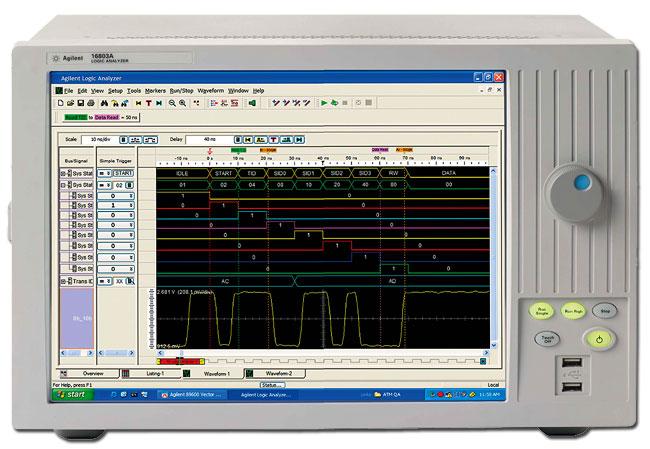 Логический анализатор 16803A