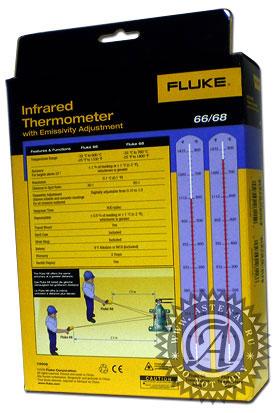 Упаковка пирометра Fluke 66