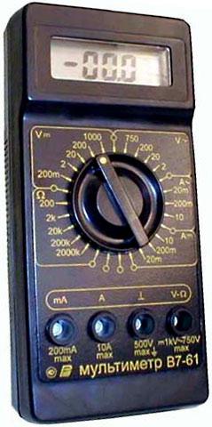 Мультиметр в7-61 руководство по эксплуатации