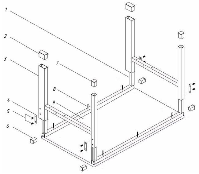 Инструкция Сборки Стола Пкс-5