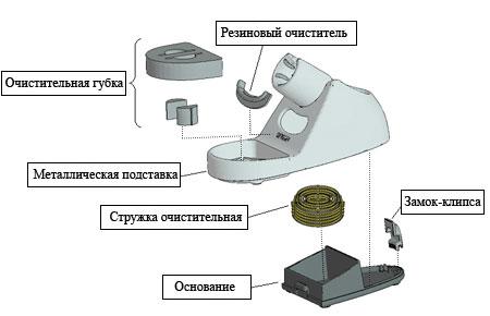 подставка для паяльника FH-800