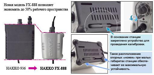 размеры новой станции FX-888