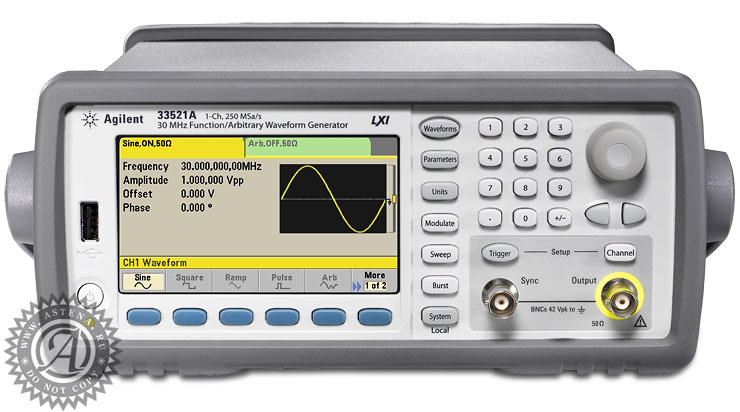 Генератор 33521A Keysight Technologies